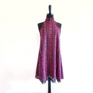 NWT Altar'd State Ditsy Paisley Dress High Neck